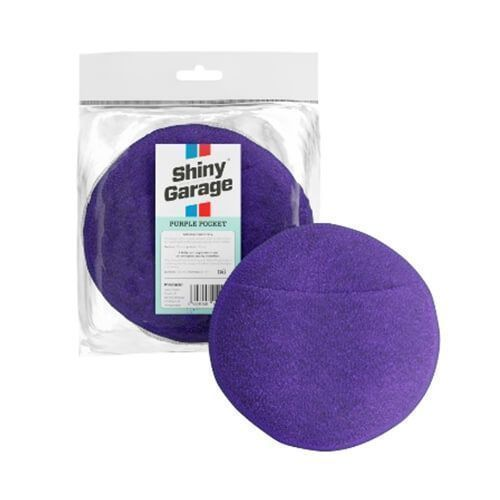 Shiny Garage Purple pocket microfiber applicator
