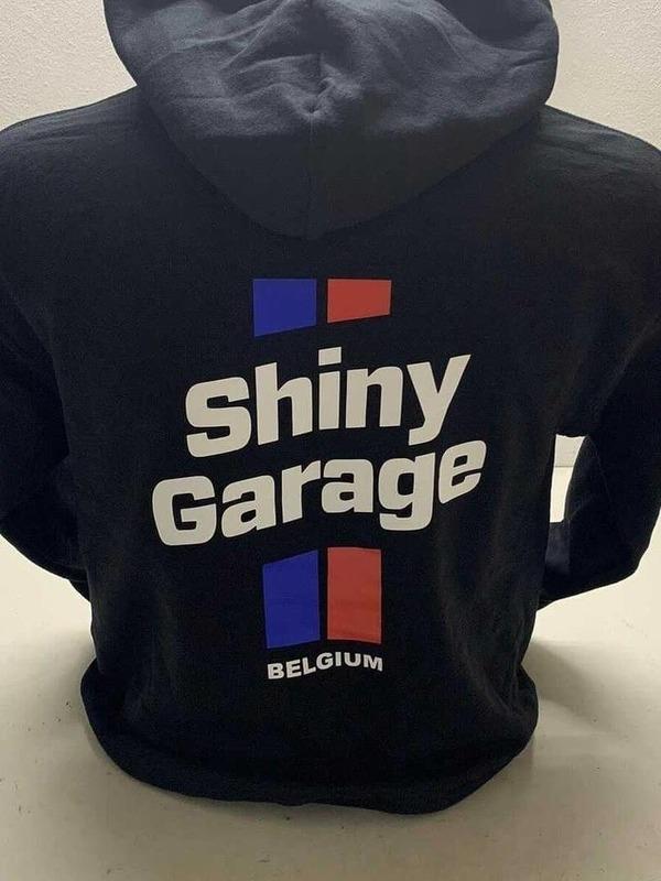 Shiny Garage Belgium Hoodie Zwart