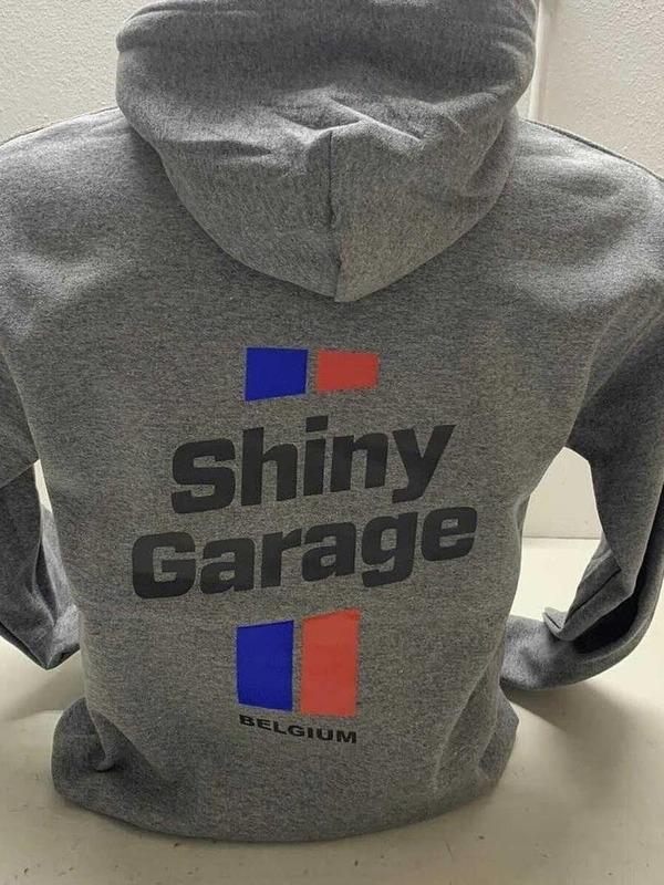 Shiny Garage Belgium Hoodie Grijs